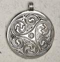 Pewter-Celtic-Triple-Spiral-at-Lucky-Mojo-Curio-Company