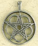 Pewter-Open-Interlaced-Circle-Pentacle-Amulet-at-Lucky-Mojo-Curio-Company