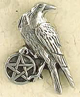 Pewter-Pentacle-of-the-Raven-Amulet-at-The-Lucky-Mojo-Curio-Company