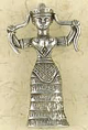 Pewter-Snake-Goddess-Amulet-at-Lucky-Mojo-Curio-Company