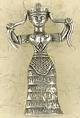 Pewter-Snake-Goddess-Amulet-at-Lucky-Mojo-Curio-Company