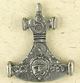 Pewter-Thors-Hammer-With-Mans-Head-Amulet-at-Lucky-Mojo-Curio-Company