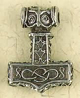 Pewter-Thors-Hammer-with-Owl-Eye-Amulet-at-Lucky-Mojo-Curio-Company