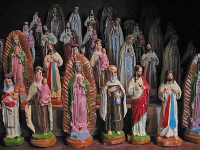 Catholic Saint Statues for sale at the Lucky Mojo Curio Company