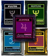 Any-Twelve-Planetary-Incense-Powders Mixed-Dozen-at-Lucky-Mojo-Curio-Company