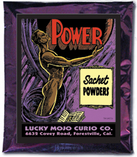 Lucky Mojo Curio Co.: Power Sachet Powder