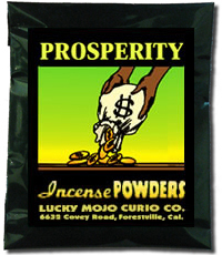 Lucky Mojo Curio Co.: Prosperity Incense Powder