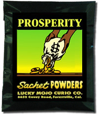 Lucky Mojo Curio Co.: Prosperity Sachet Powder