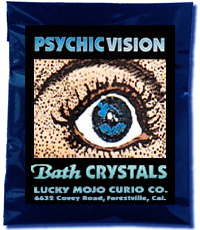 Lucky Mojo Curio Co.: Psychic Vision Bath Crystals