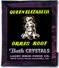 Queen-Elizabeth-Orris-Root Bath-Crystals-at-Lucky-Mojo-Curio-Company-in-Forestville-California