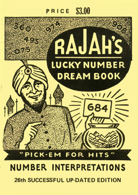 Rajah's Lucky Number Dream Book for Policy Lottery and Lotto