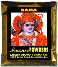 Lucky Mojo Curio Co.: Rama Incense Powders