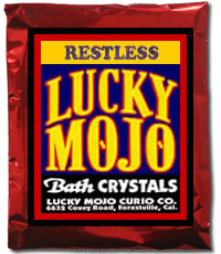 Lucky Mojo Curio Co.: Restless Bath Crystals
