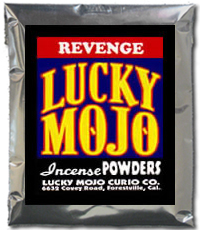 Lucky Mojo Curio Co.: Revenge Incense Powder