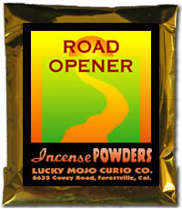Lucky Mojo Curio Co.: Road Opener Incense Powder