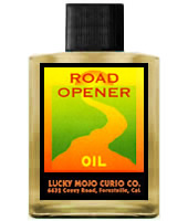 Lucky Mojo Curio Co.: Road Opener Oil