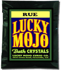 Lucky Mojo Curio Co.: Rue Bath Crystals