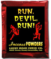 Lucky Mojo Curio Co.: Run Devil Run Incense Powder