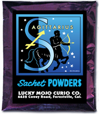Lucky Mojo Curio Co.: Sagittarius Sachet Powder