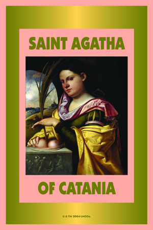 Saint-Agatha-Fixed-Dressed-Vigil-Candles-at-Lucky-Mojo-Curio-Company