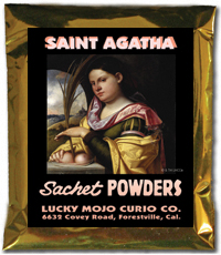 Lucky Mojo Curio Co.: Saint Agatha Sachet Powders