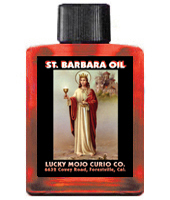 Lucky Mojo Curio Co.: Saint Barbara (Santa Barbara) Oil