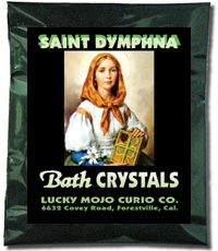 Saint-Dymphna-Bath-Crystals-at-Lucky-Mojo-Curio-Company