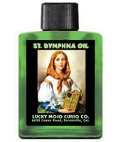 Lucky-Mojo-Curio-Co.-Saint-Dymphna-Magic-Ritual-Hoodoo-Rootwork-Conjure-Catholic-Oil
