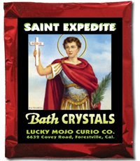 Lucky-Mojo-Curio-Co.-Saint-Expedite-Magic-Ritual-Hoodoo-Catholic-Rootwork-Conjure-Bath-Crystals