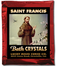 Saint-Francis-of-Assisi-Bath-Crystals-at-Lucky-Mojo-Curio-Company