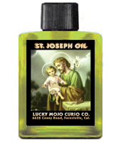 Lucky Mojo Curio Co.: Saint Joseph (San Jose) Oil