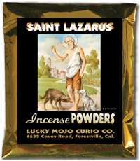 Lucky Mojo Curio Co.: Saint Lazarus Incense Powders