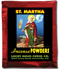 Lucky Mojo Curio Co.: Saint Martha Dominator Incense Powders
