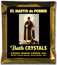 Lucky Mojo Curio Co.: Saint Martin de Porres Bath Crystals