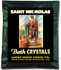 Lucky Mojo Curio Co.: Saint Nicholas Bath Crystals