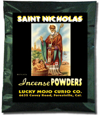Lucky Mojo Curio Co.: Saint Nicholas Incense Powders
