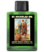 Lucky Mojo Curio Co.: Saint Nicholas Oil