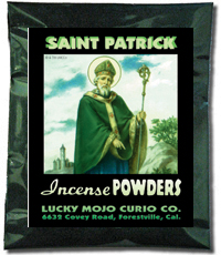 Lucky Mojo Curio Co.: Saint Patrick Incense Powders