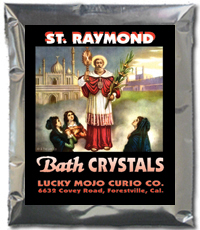 Lucky Mojo Curio Co.: Saint Raymond (San Ramon) Bath Crystals