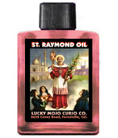 Lucky Mojo Curio Co.: Saint Raymond (San Ramon) Oil