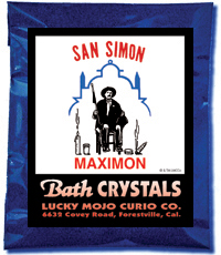 Lucky Mojo Curio Co.: Saint Simon (San Simon) Bath Crystals