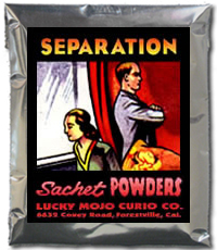 Lucky Mojo Curio Co.: Separation Sachet Powder