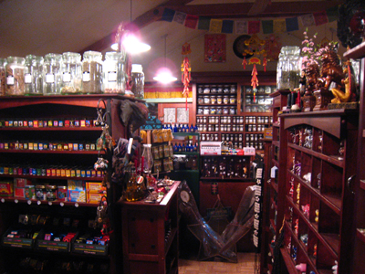 Oils, Apothecary, and Candles at the Lucky Mojo Curio Company