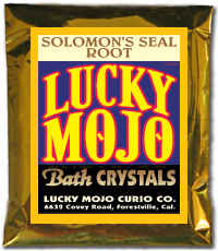 Lucky Mojo Curio Co.: Solomon Seal Bath Crystals
