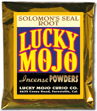 Lucky Mojo Curio Co.: Solomon Seal Incense Powder