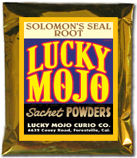 Lucky Mojo Curio Co.: Solomon Seal Sachet Powder