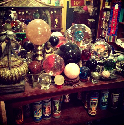 Spheres-on-Display-at-the-Lucky-Mojo-Curio-Company