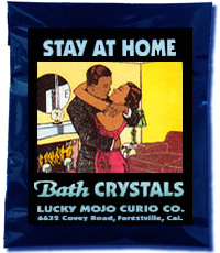 Lucky Mojo Curio Co.: Stay At Home Bath Crystals