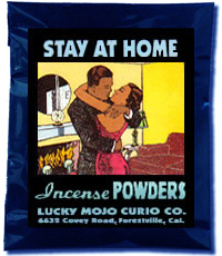 Lucky Mojo Curio Co.: Stay At Home Incense Powder