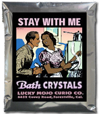 Lucky Mojo Curio Co.: Stay with Me Bath Crystals